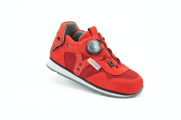 Milano Red AFO Shoe
