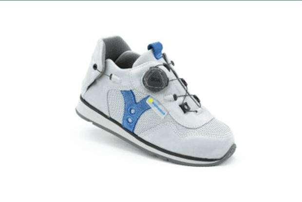 Siena Light Grey AFO Shoe
