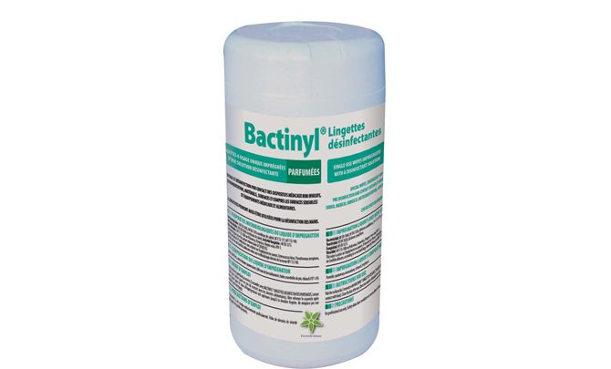 Bactinyl Disinfecting Wipes (Pk of 12 Tubes)
